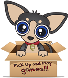 Pick up and Play Games Logo
